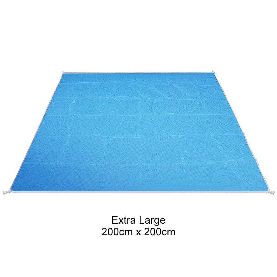 Sand Free Outdoor Beach Mat Camping Picnic Blanket 2x2m
