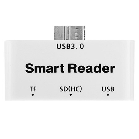 Micro USB 3.0 OTG Adapter & Memory Card Reader for Galaxy S5 / Note 3