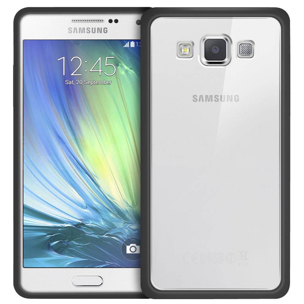 huge selection of b15c9 f180d Orzly Fusion Bumper Case - Samsung Galaxy A5 (2015) - Black