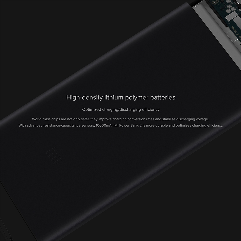 Xiaomi 10000mah Mi Power 2 Fast Charger Bank Black M Plus M5 Battery Pack 5000 Mah Usb
