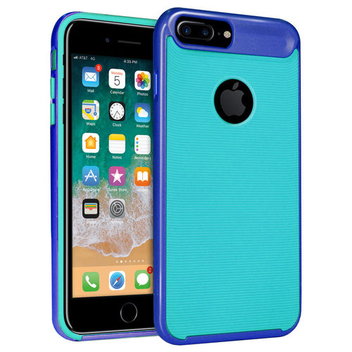 Orzly AirFrame Bumper Case for Apple iPhone 8 Plus / 7 Plus - Blue