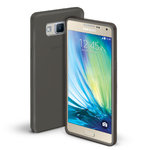 Orzly Flexi Case for Samsung Galaxy A5 (2015) - Smoke Black (Gloss)