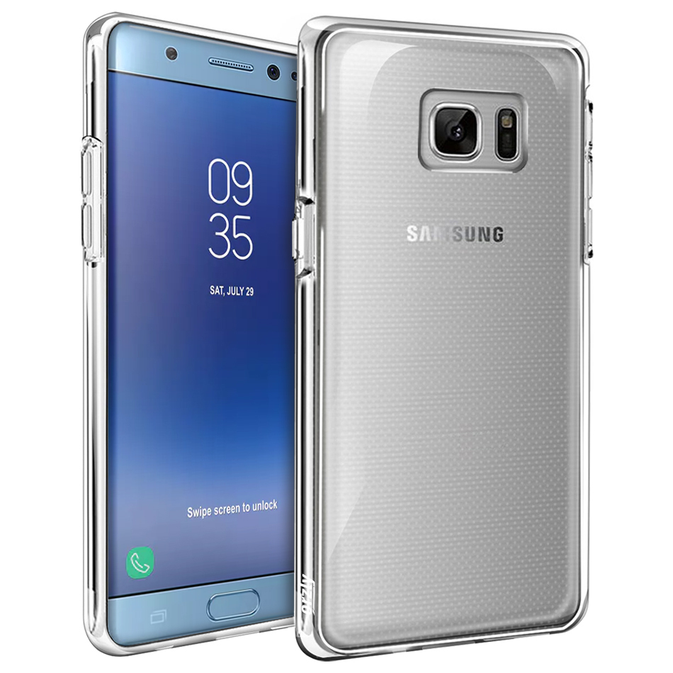 Orzly Flexi Case For Samsung Galaxy Note Fe Clear 7 Fan Edition