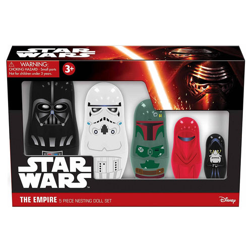 PPW Toys Star Wars The Empire Darth Vader Nesting Dolls Set (5-piece)
