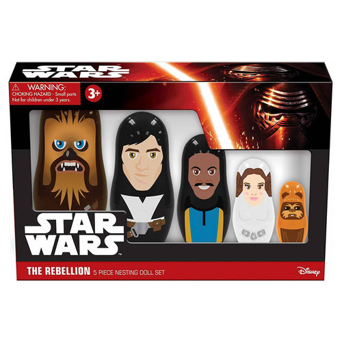 PPW Toys Star Wars - The Rebellion Nesting Dolls Set (5-piece)