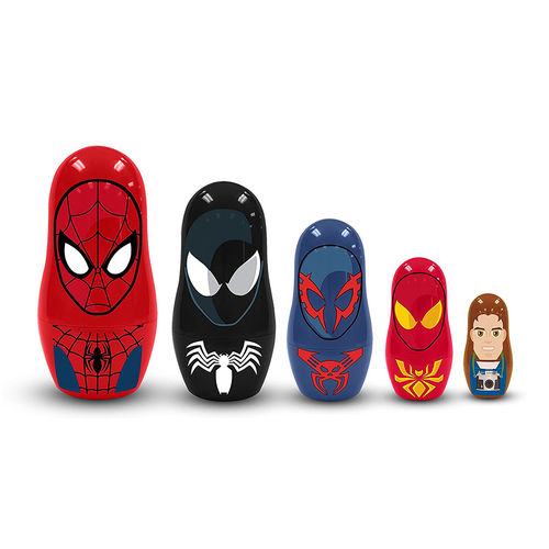 PPW Toys Ultimate Spider-Man Nesting Dolls Set (5-piece)