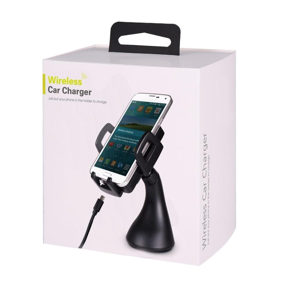Qi Wireless Charger Car Mount Holder (Adjustable Cradle