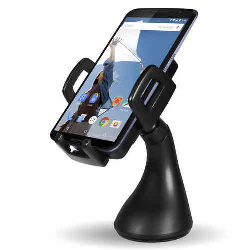 Qi Wireless Charging Car Mount (Suction & Vent) for Google Nexus 6