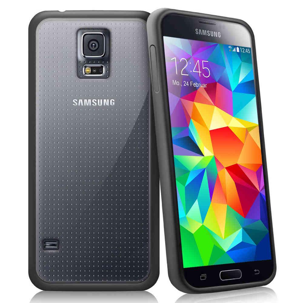wholesale dealer d1af5 2f760 Sonivo Fusion Bumper Case - Samsung Galaxy S5 Mini (Black)