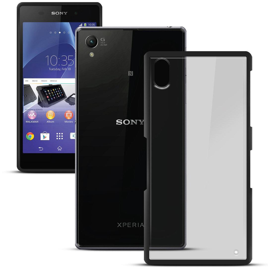 Sonivo Fusion Bumper Case - Sony Xperia Z2 (Black)