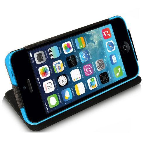 hot sale online bd259 f736c Cotechs Frameless Case Flip Cover for Apple iPhone 5c - Black