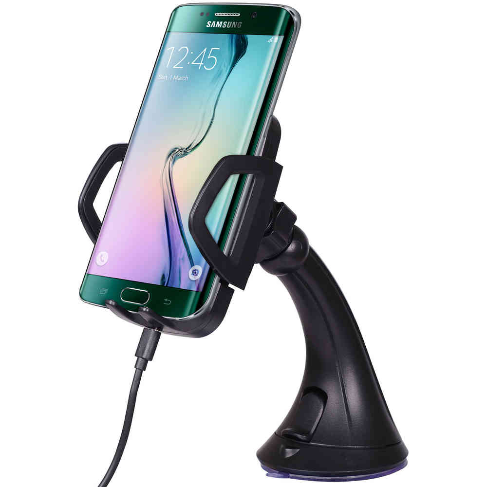 c54486f9816 Qi Wireless Charging Car Mount Holder for Samsung Galaxy S6 Edge