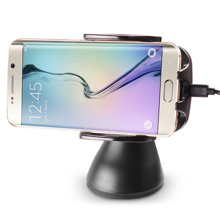 7907c3efd85 ... Qi Wireless Charging Car Mount Holder for Samsung Galaxy S6 Edge ...