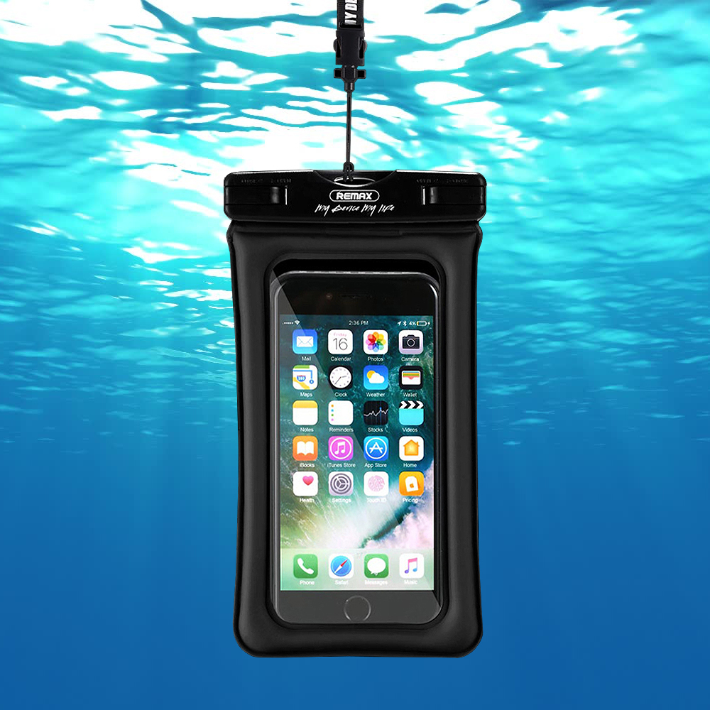 Remax Waterproof Seal Bag Case & Diving Pouch for Mobile Phone