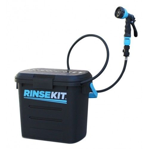 RinseKit 7.5L Pressurised Portable Shower Hose for Outdoors / Camping