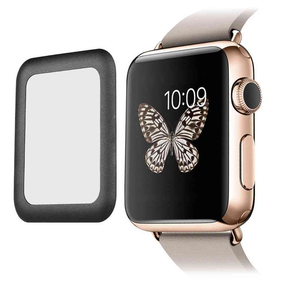 promo code 138b8 29666 9H Tempered Glass Screen Protector - Apple Watch 42mm (Black)