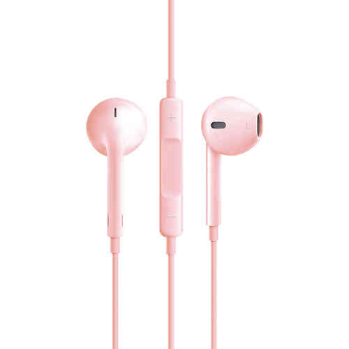 Stereo EarPods with Remote & Microphone (Headphones) - Rose Gold