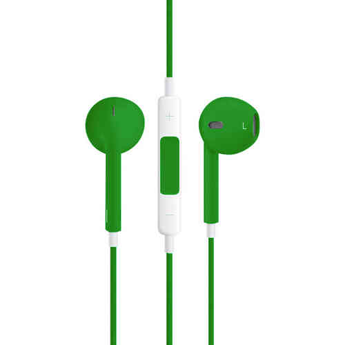 Stereo EarPods with Remote & Microphone (Headphones) - Green