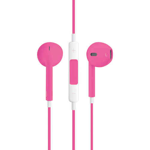 Stereo EarPods with Remote & Microphone (Headphones) - Pink
