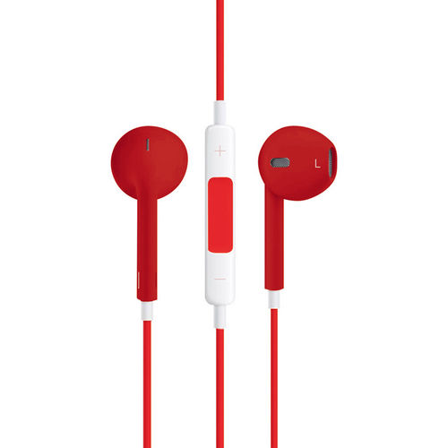 Stereo EarPods with Remote & Microphone (Headphones) - Red