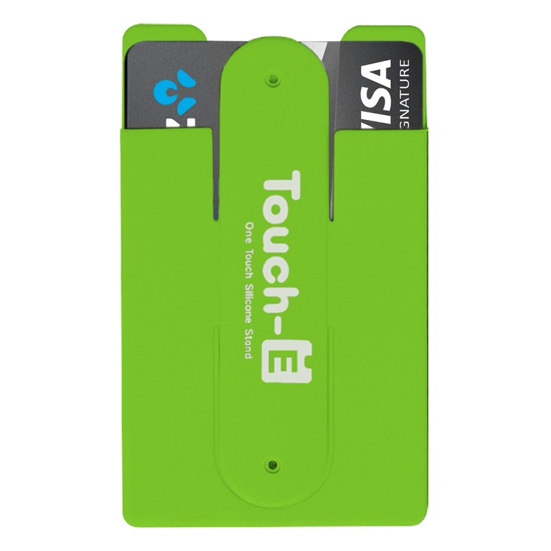 best service e5048 15795 Opal Card Transport Ticket Holder Stand for Mobile Phone (Green)