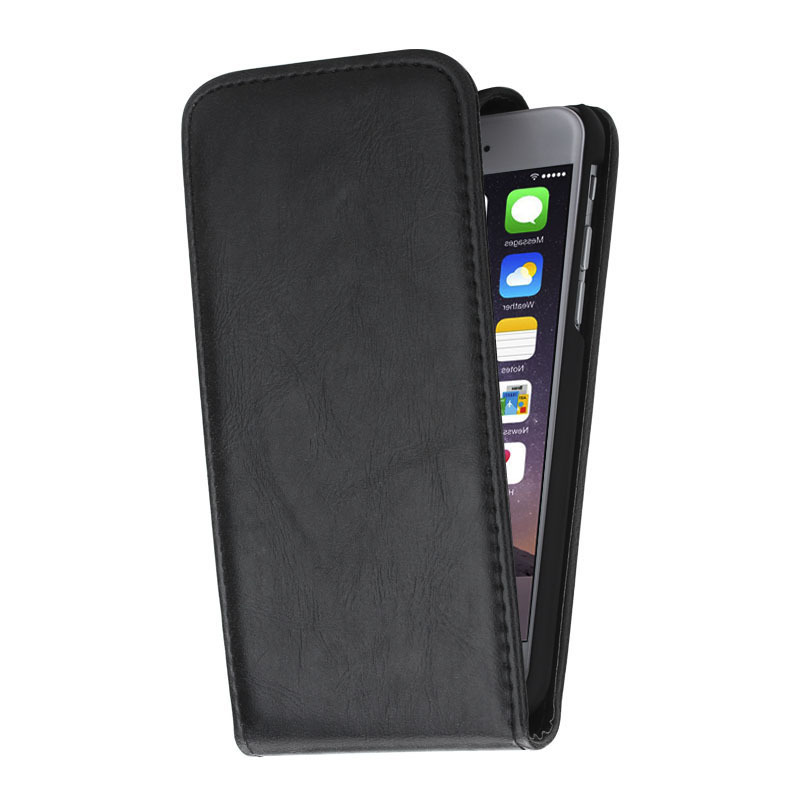 Apple Iphone S Leather Case Black