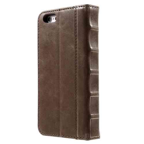 Vintage Book Leather Wallet Case for Apple iPhone 6 Plus / 6s Plus