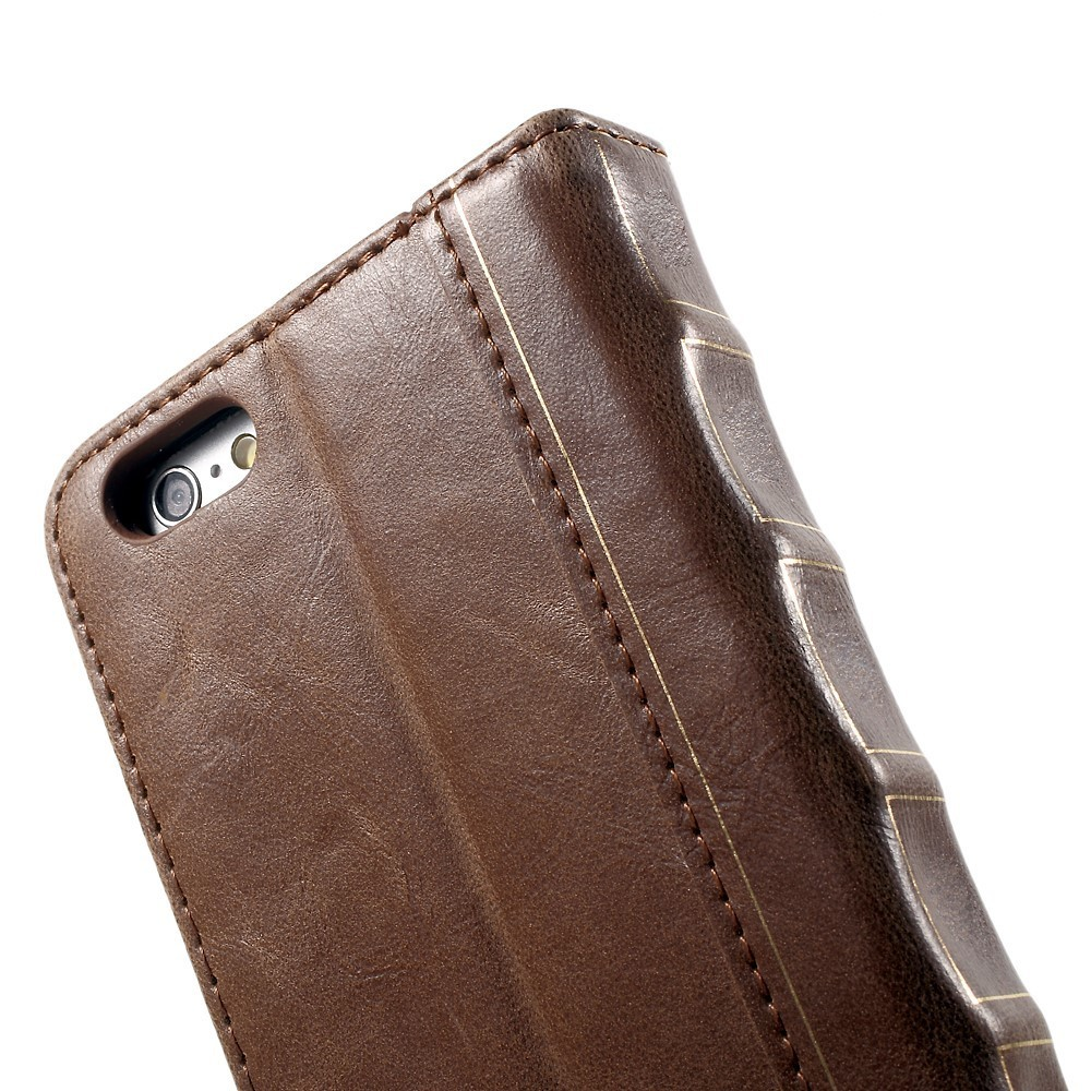 Old Book Case For Iphone : Vintage book leather wallet case apple iphone s plus