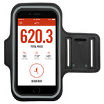 Sports Plus Jogging Activity Armband Case for Mobile Phones - Black