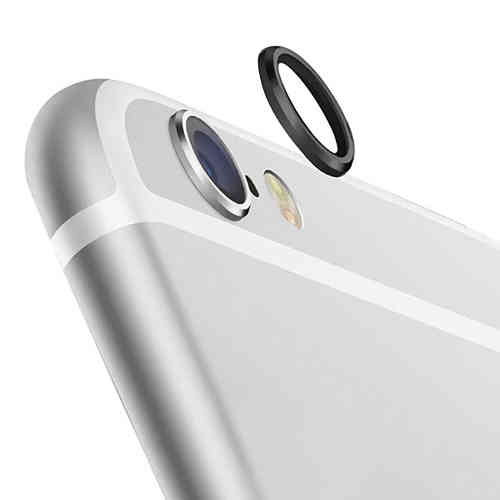 2x Camera Lens Protective Ring Cover for Apple iPhone 6s Plus - Black