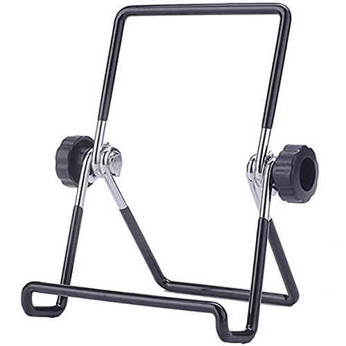 Universal Multi-Angle Adjustable Metal Frame Desk Stand for Tablets
