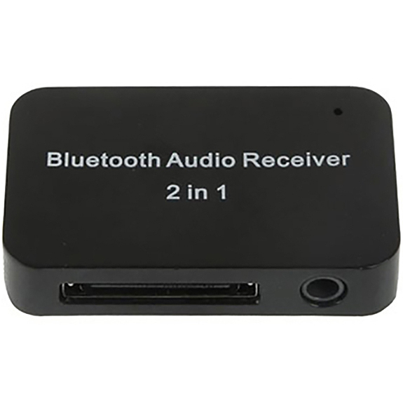 30-pin Bluetooth Audio Receiver Adapter