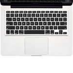 "Keyboard Cover Protector for 15"" & 13-inch MacBook Pro / Air - Black"