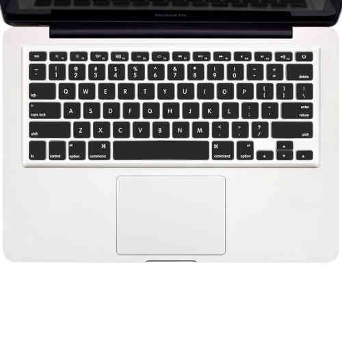 Enkay Keyboard Cover Skin for 13 & 15-inch MacBook Pro / Air - Black