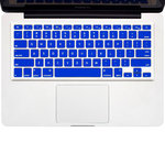 "Keyboard Cover Protector for 15"" & 13-inch MacBook Pro / Air - Blue"