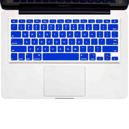 "Enkay Keyboard Cover Skin for 15"" & 13"" MacBook Pro / Air - Blue"