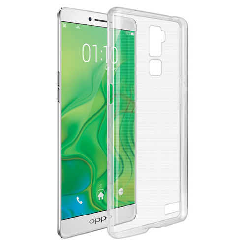 Flexi Gel Crystal Case for Oppo R7 Plus - Clear (Gloss Grip)