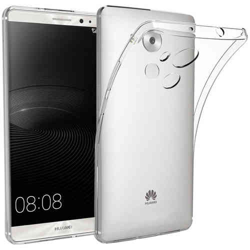 Flexi Gel Crystal Case for Huawei Mate 8 - Clear (Gloss Grip)