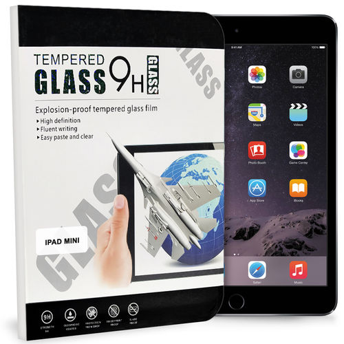 9H Tempered Glass Screen Protector for Apple iPad Mini 3 / 2 / 1
