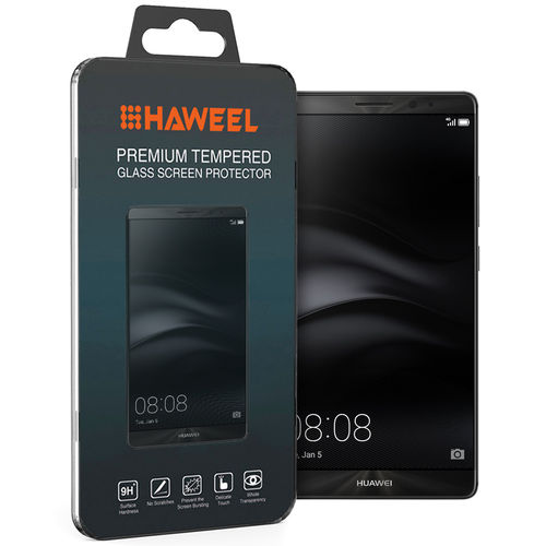 Haweel 9H Tempered Glass Screen Protector for Huawei Mate 8 - Clear