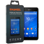 Haweel 9H Tempered Glass Screen Protector for Sony Xperia E4g - Clear