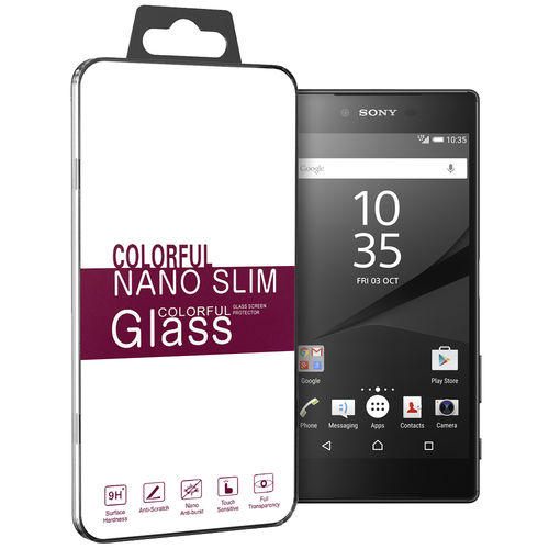 9H Tempered Glass Screen Protector for Sony Xperia Z5 Premium - Clear