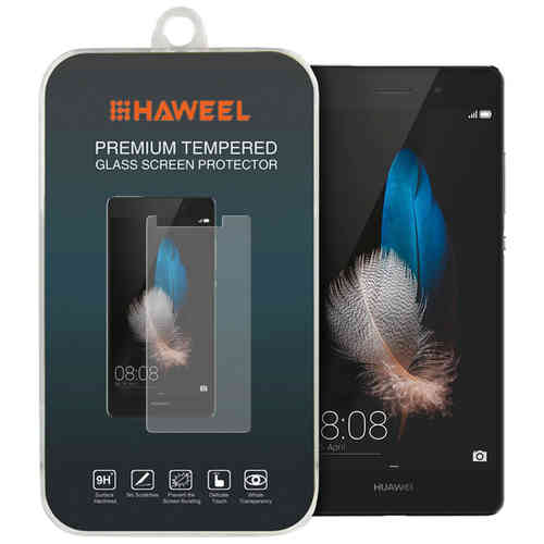 Haweel 9H Tempered Glass Screen Protector for Huawei P8 Lite - Clear
