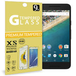 9H Tempered Glass Screen Protector for Google Nexus 5X - Clear
