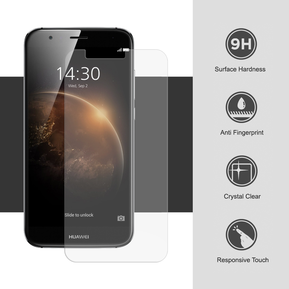 9h Tempered Glass Screen Protector Huawei G8 Clear Haweel For