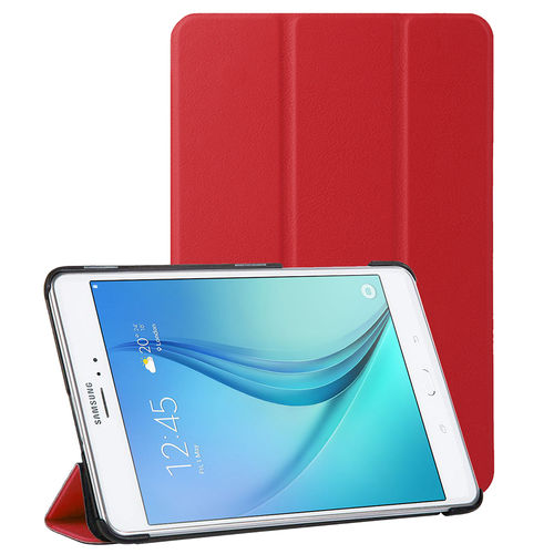 Trifold Smart Case & Stand for Samsung Galaxy Tab A 8.0 (2015) - Red
