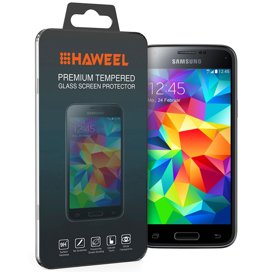 best website ed854 79040 9H Tempered Glass Screen Protector - Samsung Galaxy S5 Mini