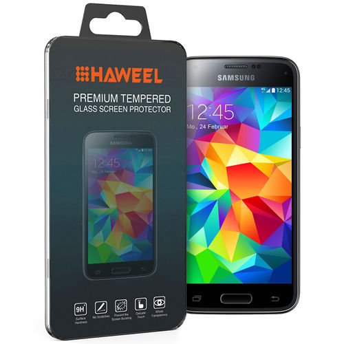 Haweel 9H Tempered Glass Screen Protector for Samsung Galaxy S5 Mini