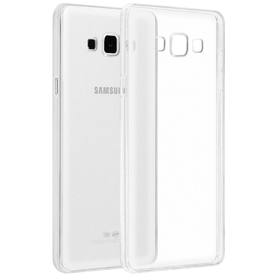 reputable site 4ed48 0a67b Flexi Gel Crystal Case for Samsung Galaxy A8 (2015) - Clear (Gloss)