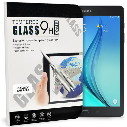 9H Tempered Glass Screen Protector for Samsung Galaxy Tab A 9.7 (2015)